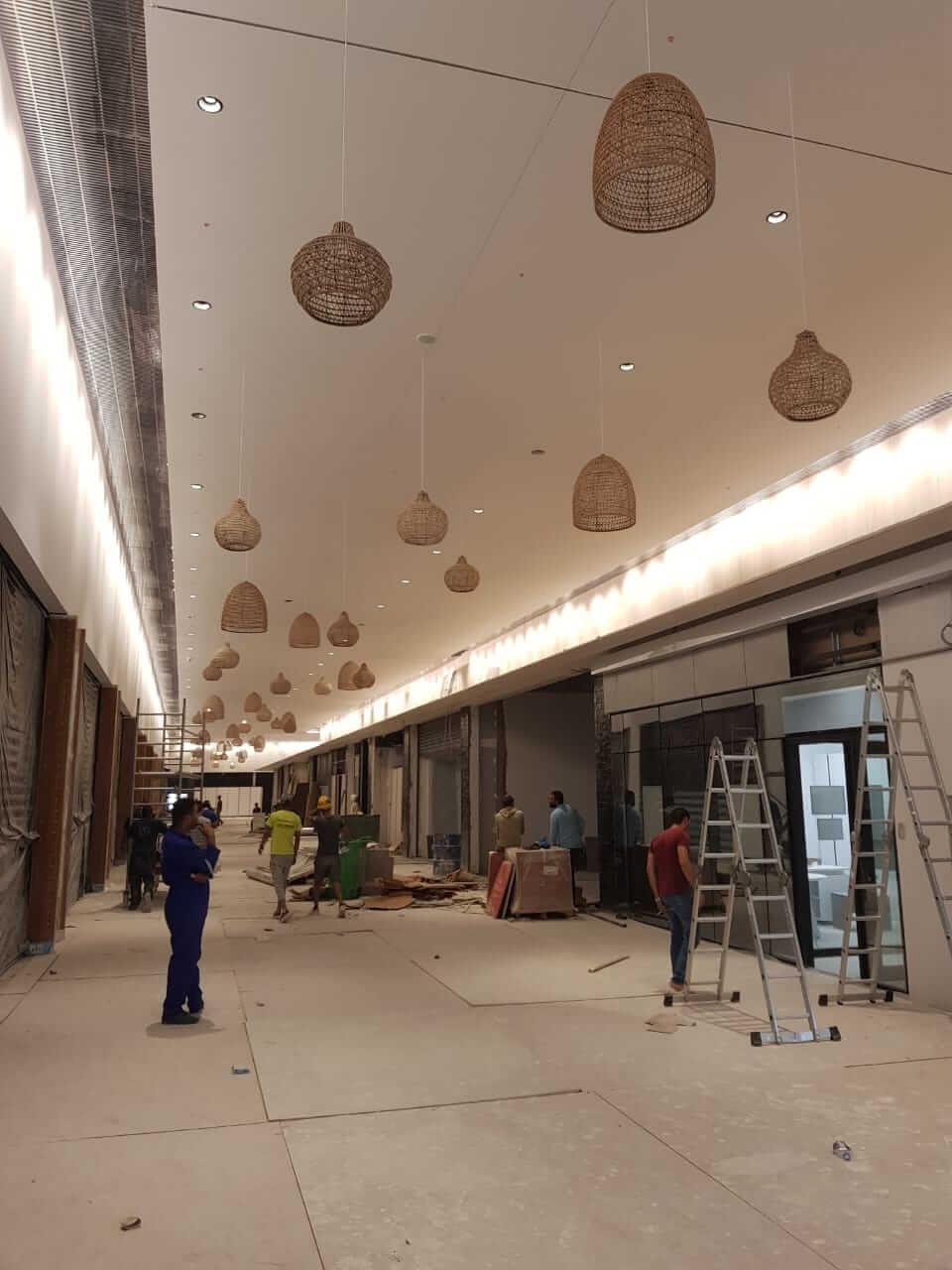 Plafond Mall of Sousse